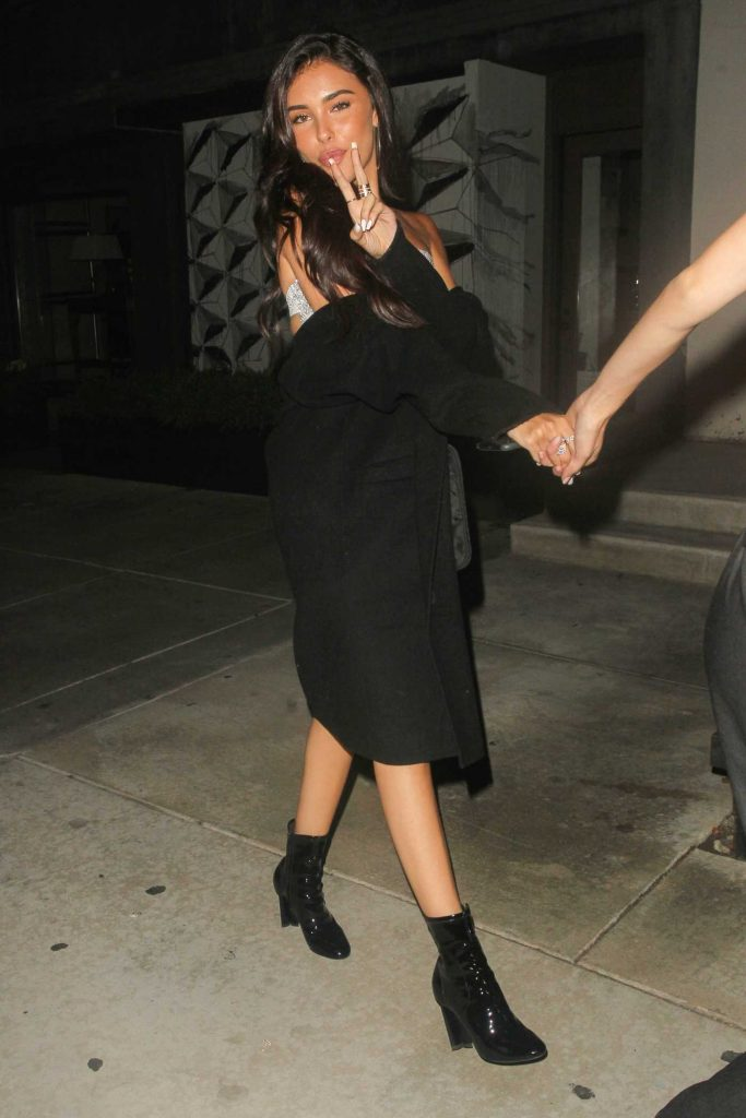 Madison Beer Arrives at the Opening of Poppy in West Hollywood-2