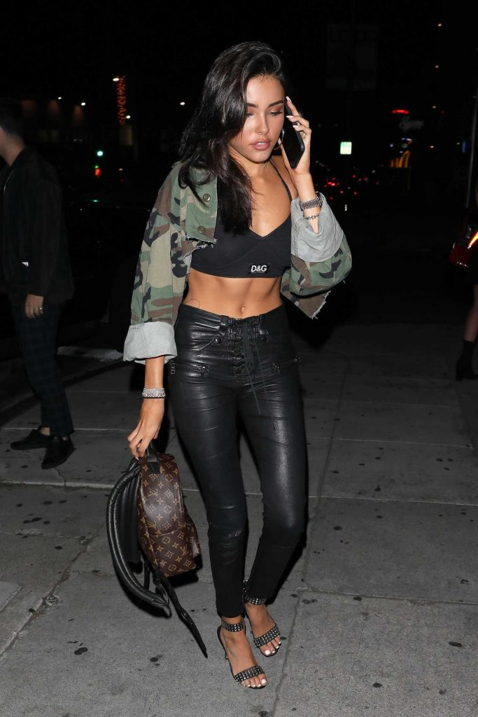 Madison Beer Arrives in Style at The Nice Guy in West Hollywood-3