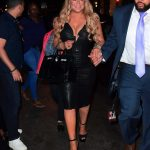 Mariah Carey Goes to a Dinner After Her Madison Square Garden Concert in New York
