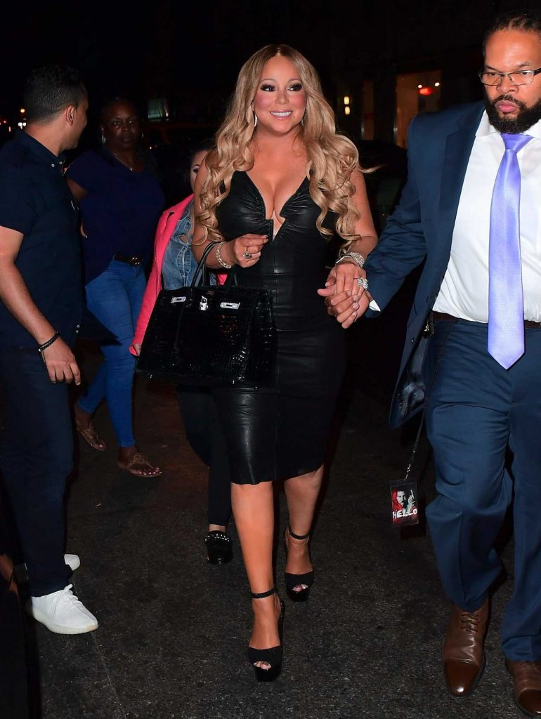 Mariah Carey Goes to a Dinner After Her Madison Square Garden Concert in New York-1