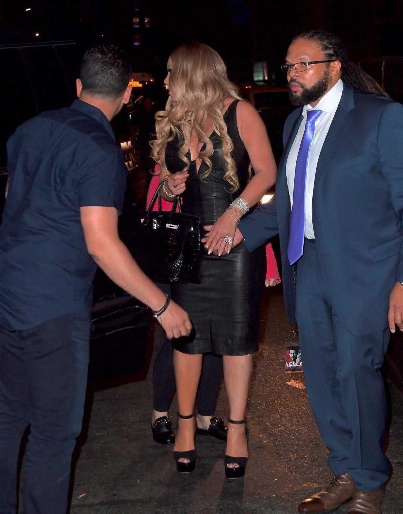 Mariah Carey Goes to a Dinner After Her Madison Square Garden Concert in New York-2