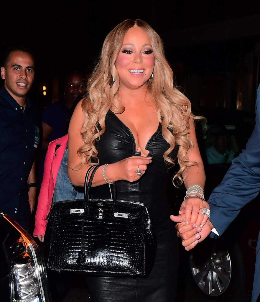 Mariah Carey Goes to a Dinner After Her Madison Square Garden Concert in New York-4