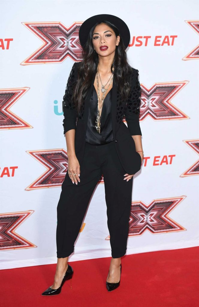 Nicole Scherzinger at The X Factor Press Launch at Picturehouse Central in London-1