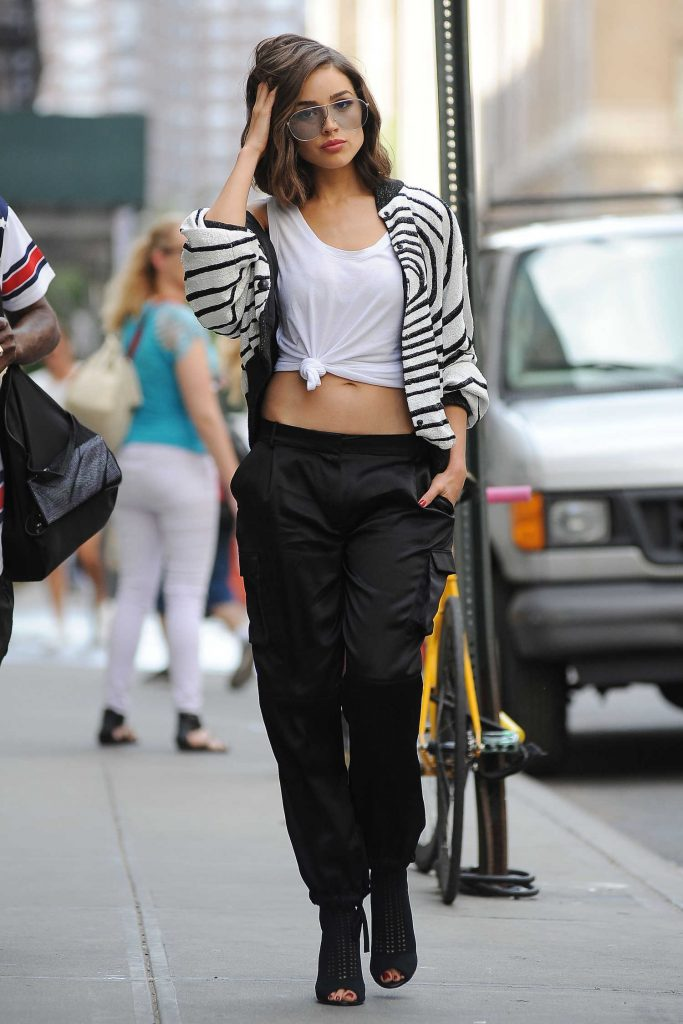 Olivia Culpo Leaves a Photo Shoot for DSW in NYC-5