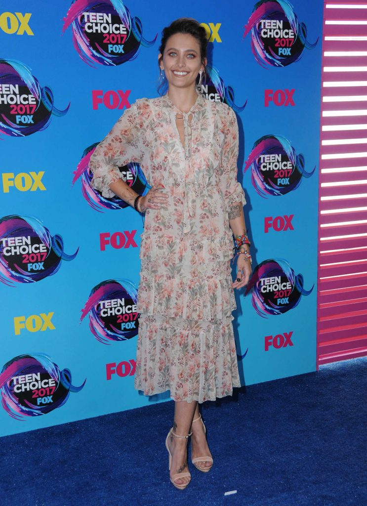Paris Jackson at 2017 Teen Choice Awards in Los Angeles-1