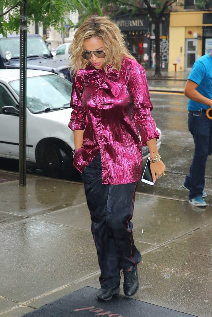 Rita Ora Was Seen in the East Village in New York City-1