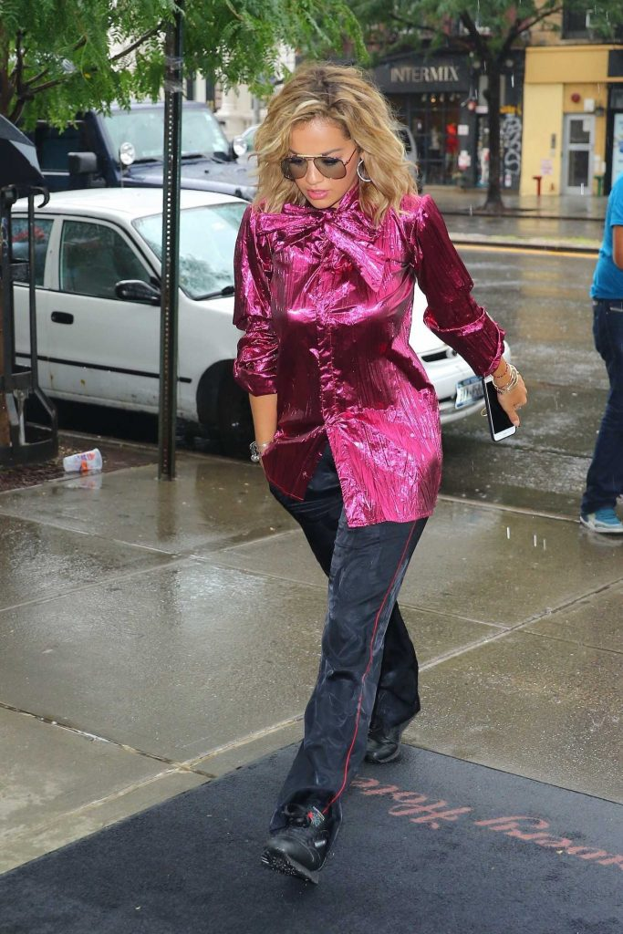Rita Ora Was Seen in the East Village in New York City-2