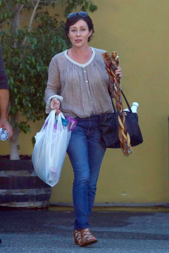 Shannen Doherty Goes Shopping in Sherman Oaks-1