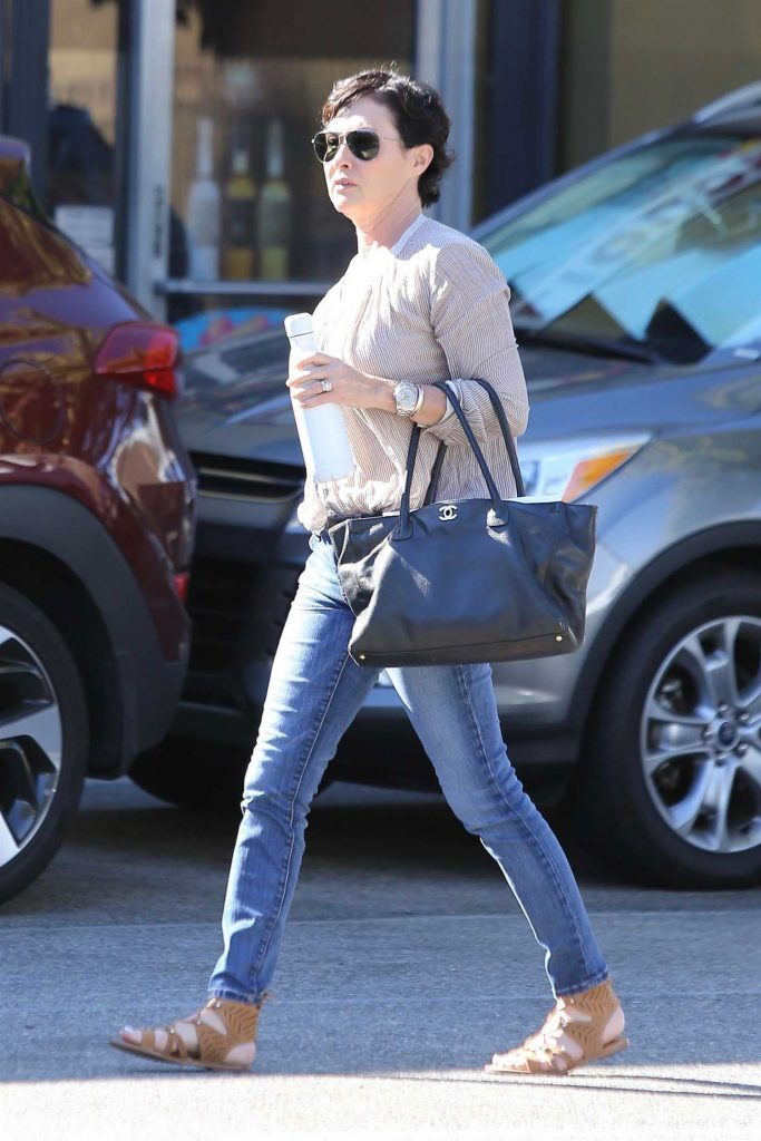 Shannen Doherty Goes Shopping in Sherman Oaks-3