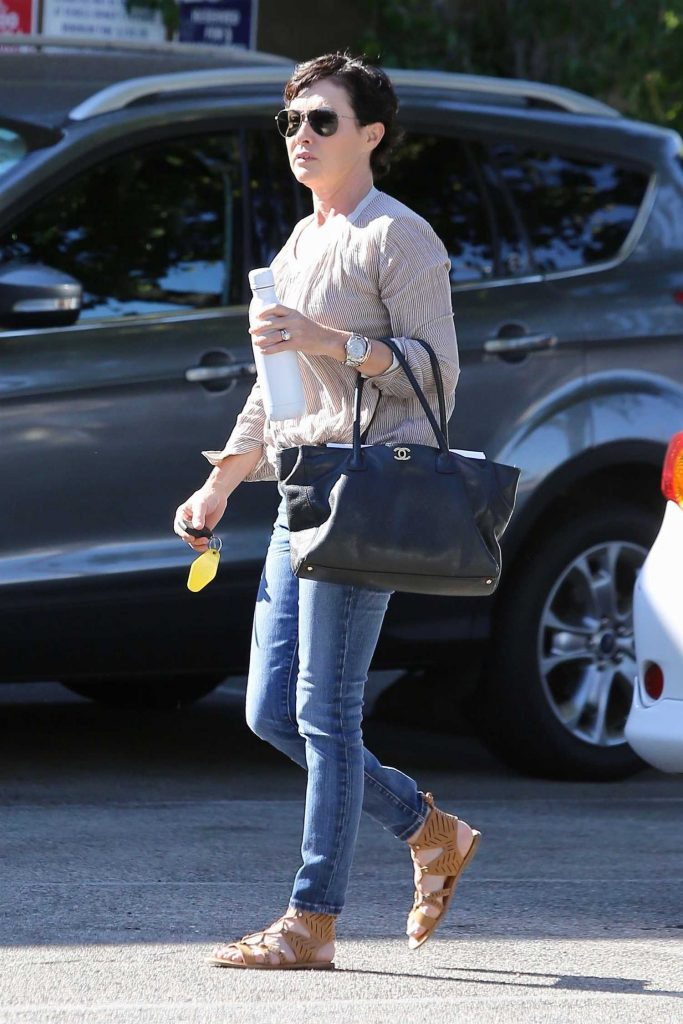 Shannen Doherty Goes Shopping in Sherman Oaks-4