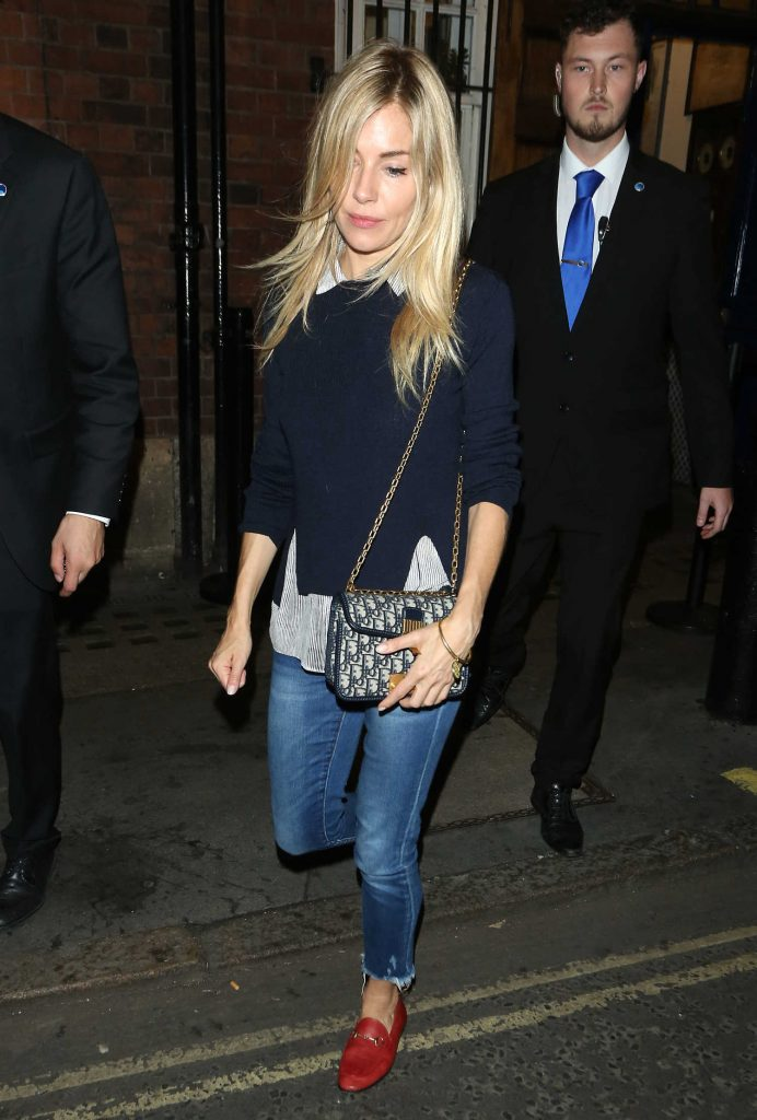 Sienna Miller Leaves Apollo Theatre in London After Her Performance in Cat on a Hot Tin Roof-3