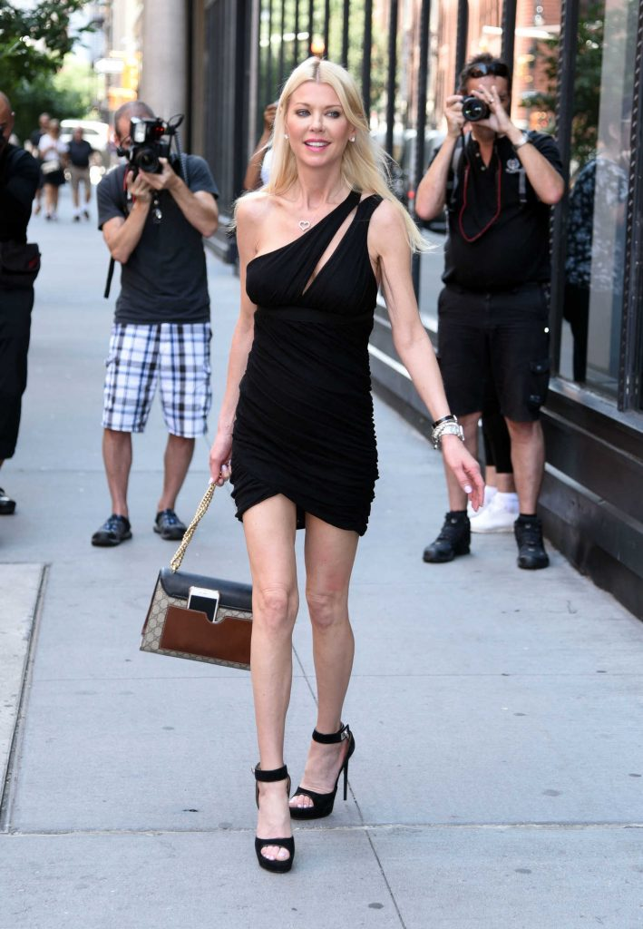 Tara Reid Leaves AOL Build Studio in New York City-1