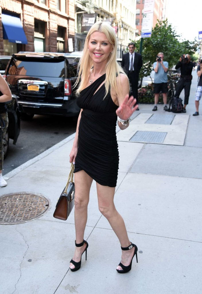Tara Reid Leaves AOL Build Studio in New York City-3