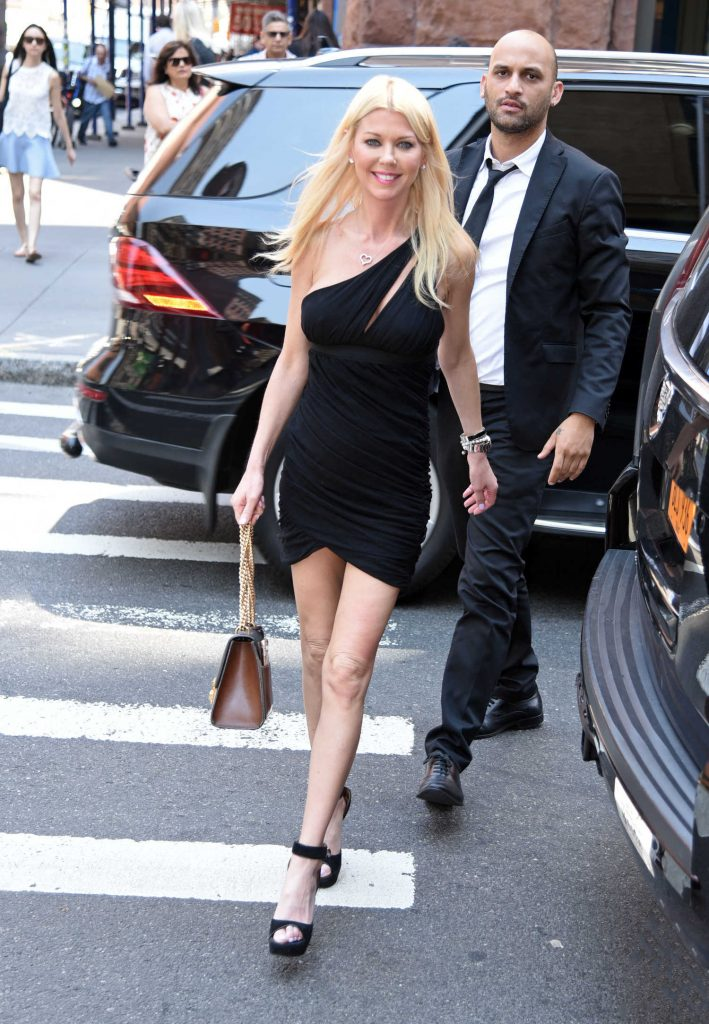 Tara Reid Leaves AOL Build Studio in New York City-5