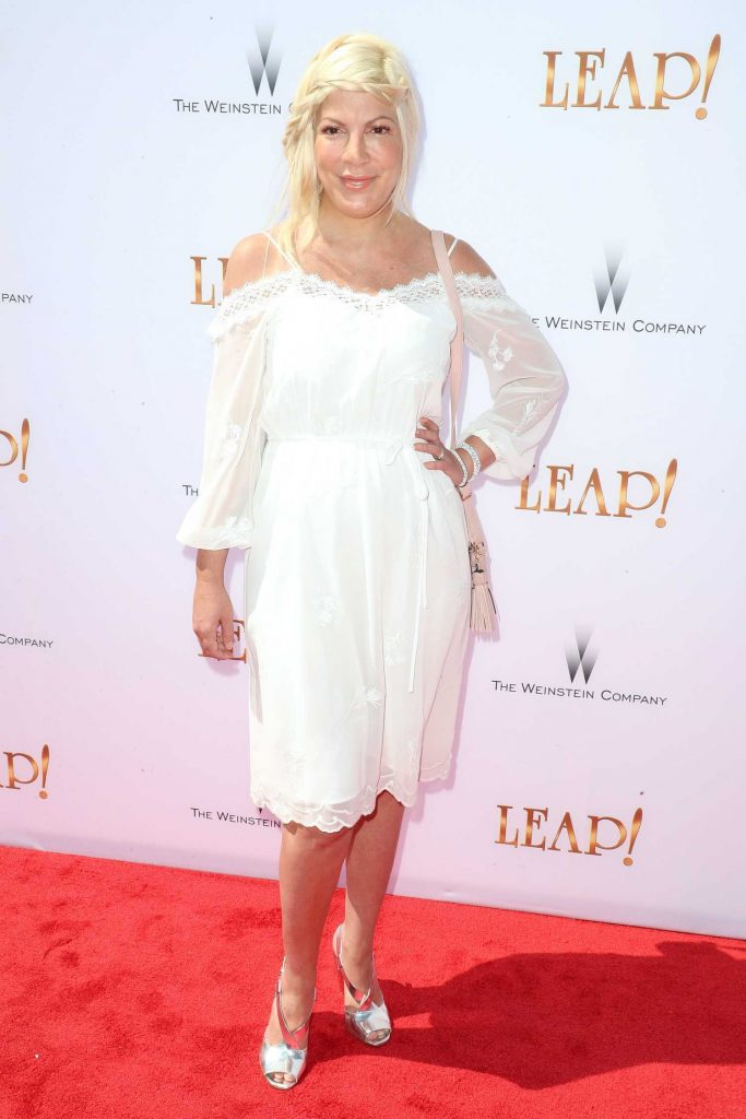 Tori Spelling at Leap! Premiere in Los Angeles-1