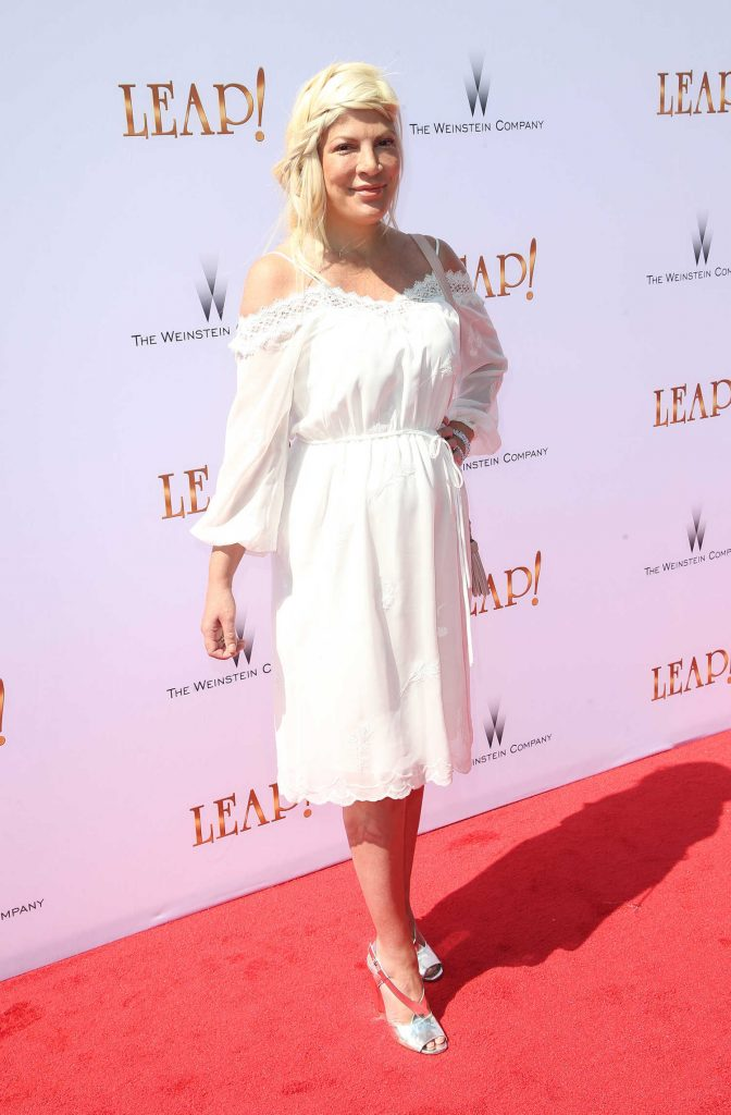Tori Spelling at Leap! Premiere in Los Angeles-2