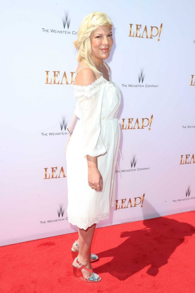 Tori Spelling at Leap! Premiere in Los Angeles-3