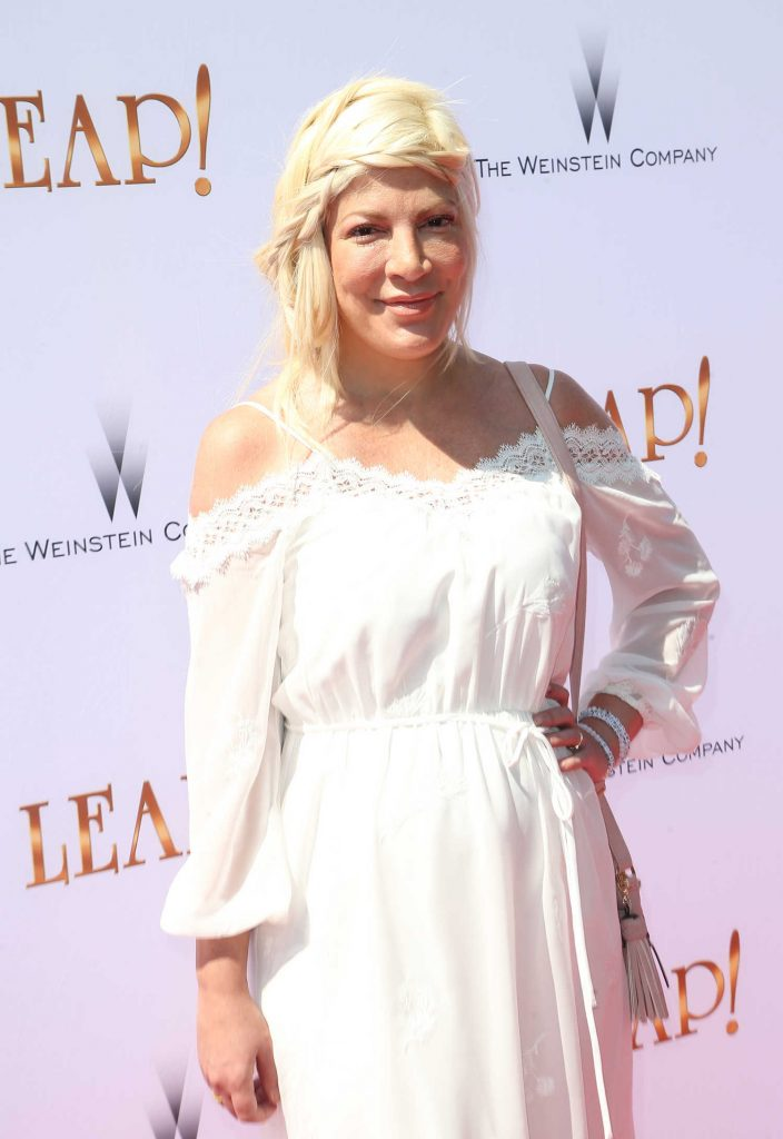 Tori Spelling at Leap! Premiere in Los Angeles-4