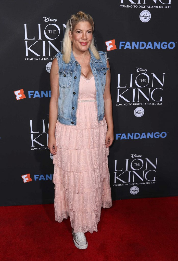 Tori Spelling at The Lion King Sing-Along in Los Angeles-1