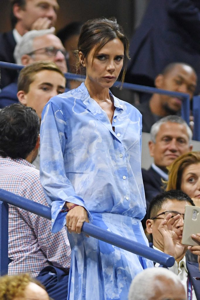 Victoria Beckham at the 2017 US Open in New York-3