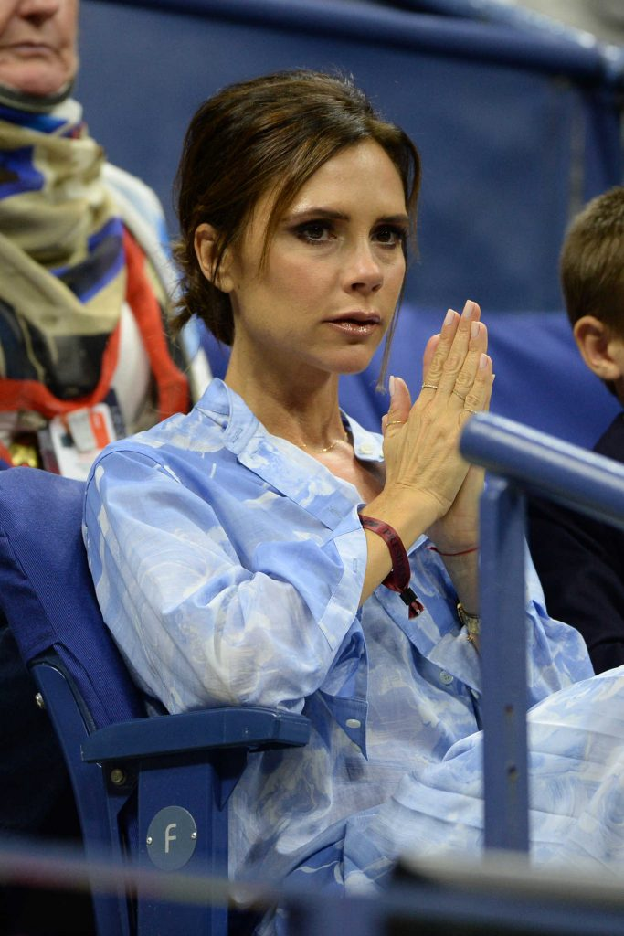Victoria Beckham at the 2017 US Open in New York-5