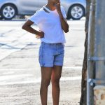 Zoe Saldana Was Seen Out in Studio City