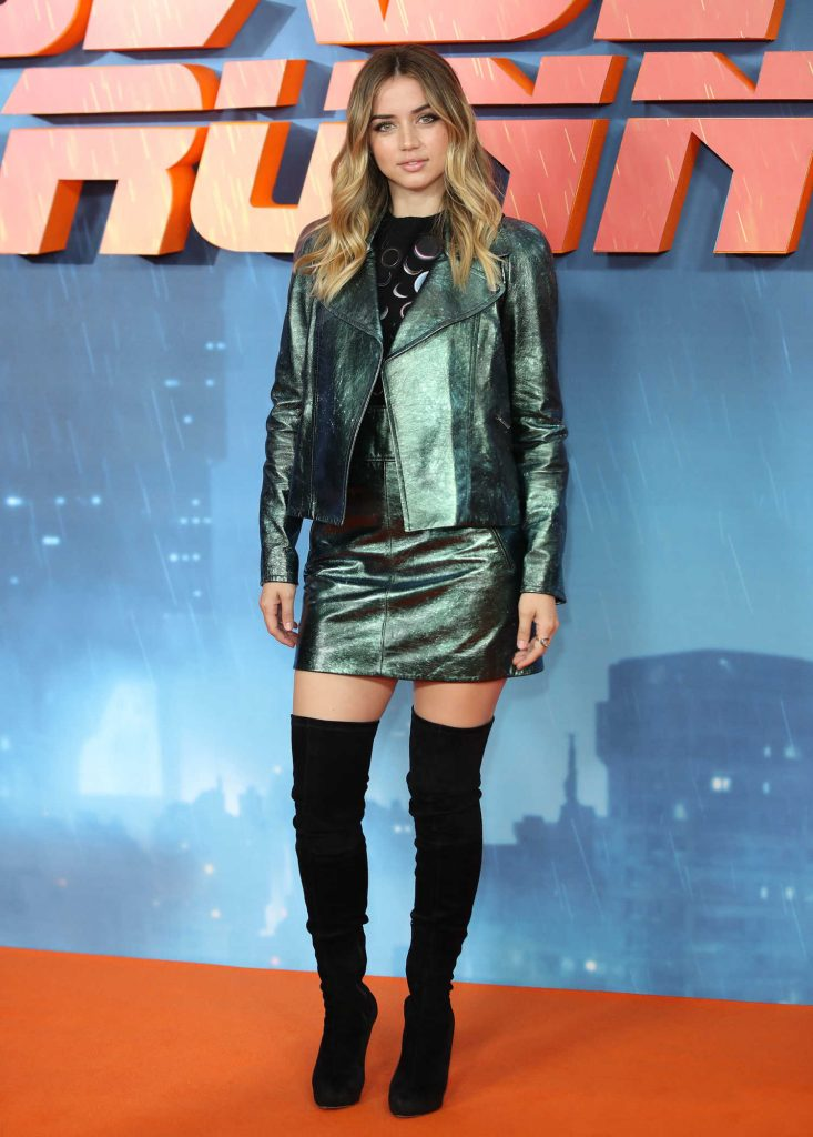 Ana de Armas at the Blade Runner 2049 Photocall in London-1
