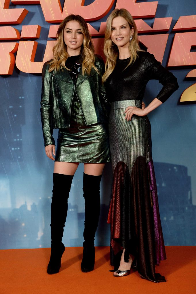 Ana de Armas at the Blade Runner 2049 Photocall in London-3