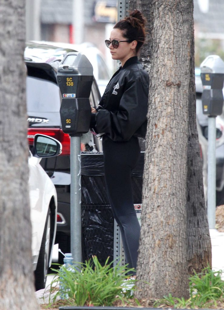 Ashley Tisdale Leaves the Gym in Los Angeles-4