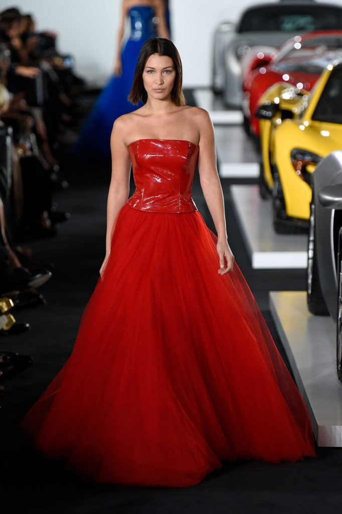 Bella Hadid at the Ralph Lauren Fashion Show During New York Fashion Week-1