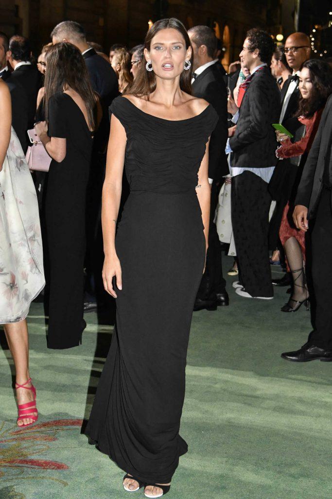 Bianca Balti at Green Carpet Fashion Awards in Milan-1
