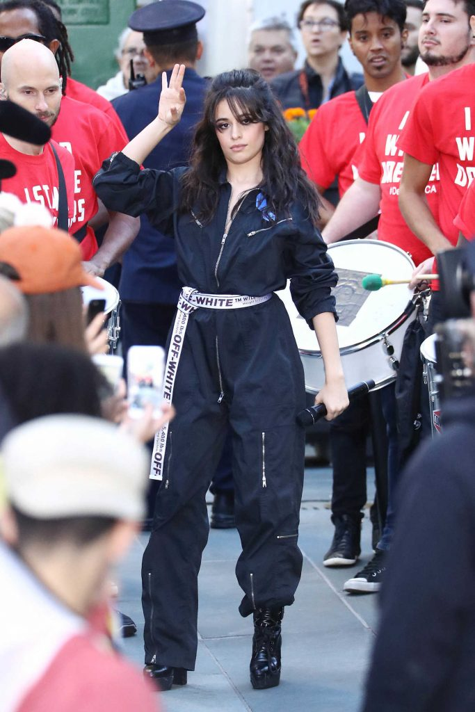Camila Cabello at NBC's Today Show in NYC-2