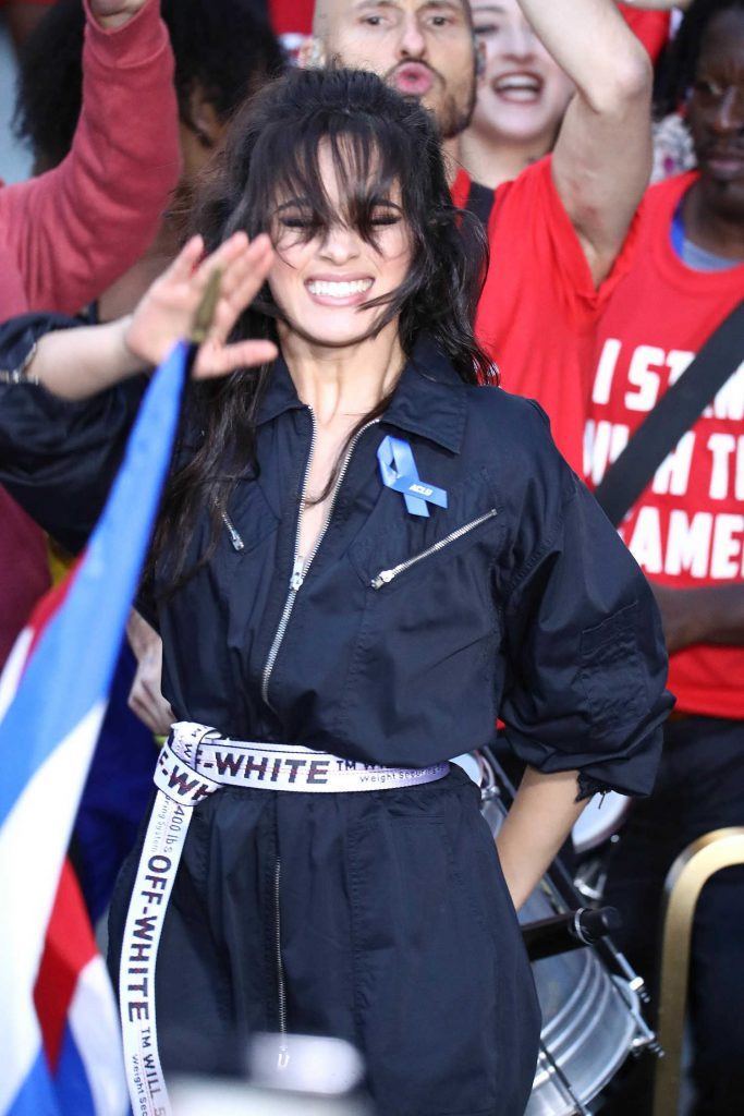 Camila Cabello at NBC's Today Show in NYC-3
