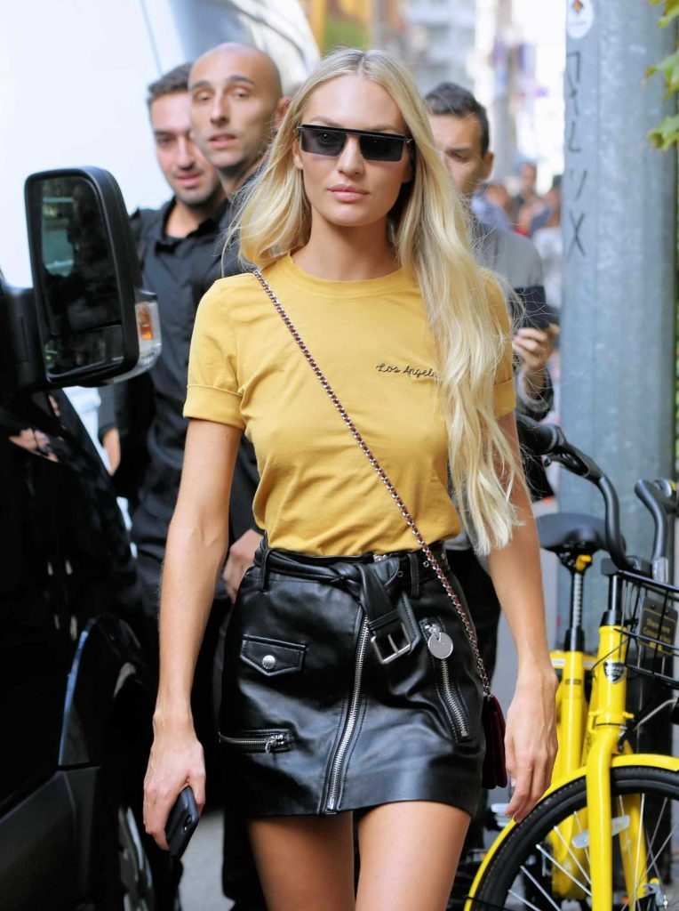 Candice Swanepoel Leaves The Palazzo Archinto in Milan-4