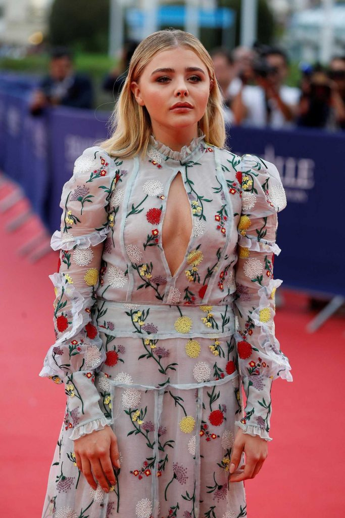 Chloe Moretz at Opening Ceremony of the 43rd Deauville Americal Film Festival in France-2