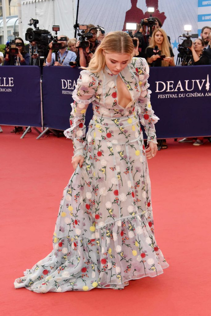 Chloe Moretz at Opening Ceremony of the 43rd Deauville Americal Film Festival in France-5
