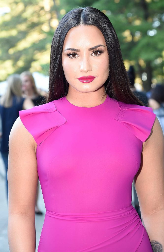 Demi Lovato at the Global Citizen Festival in Central Park, NYC-2