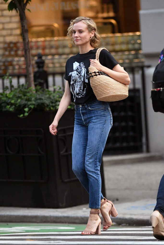 Diane Kruger Was Seen Out in New York City-1