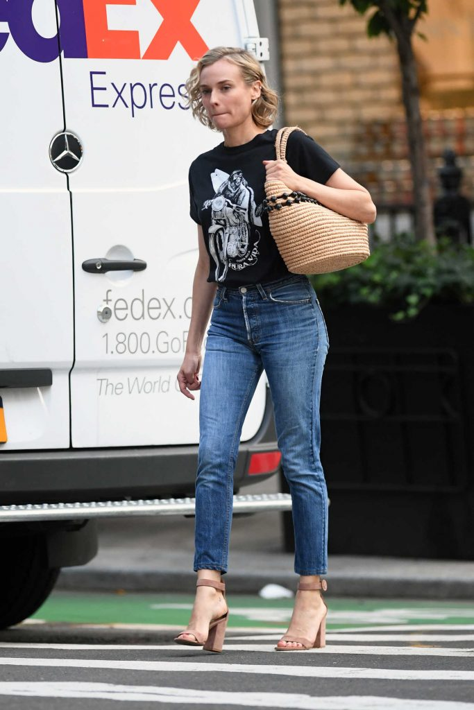 Diane Kruger Was Seen Out in New York City-4