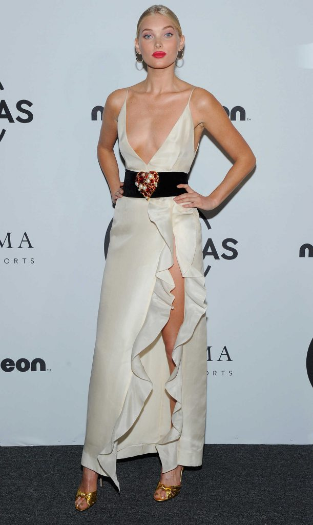 Elsa Hosk Attends UNITAS Gala Against Human Trafficking in NYC-1