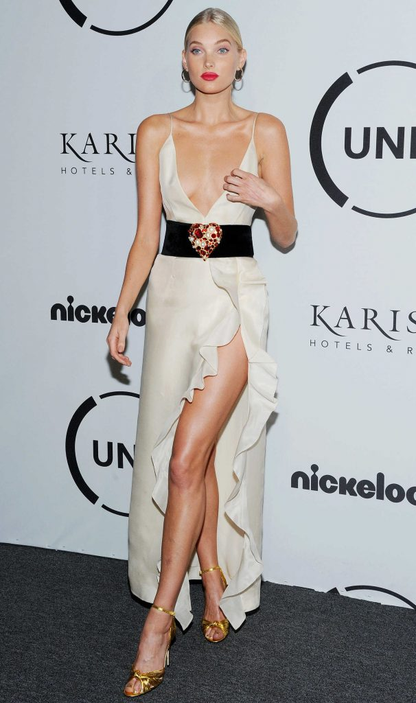 Elsa Hosk Attends UNITAS Gala Against Human Trafficking in NYC-2