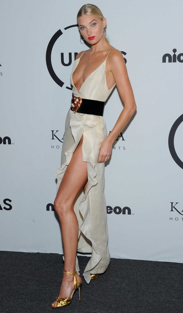 Elsa Hosk Attends UNITAS Gala Against Human Trafficking in NYC-5