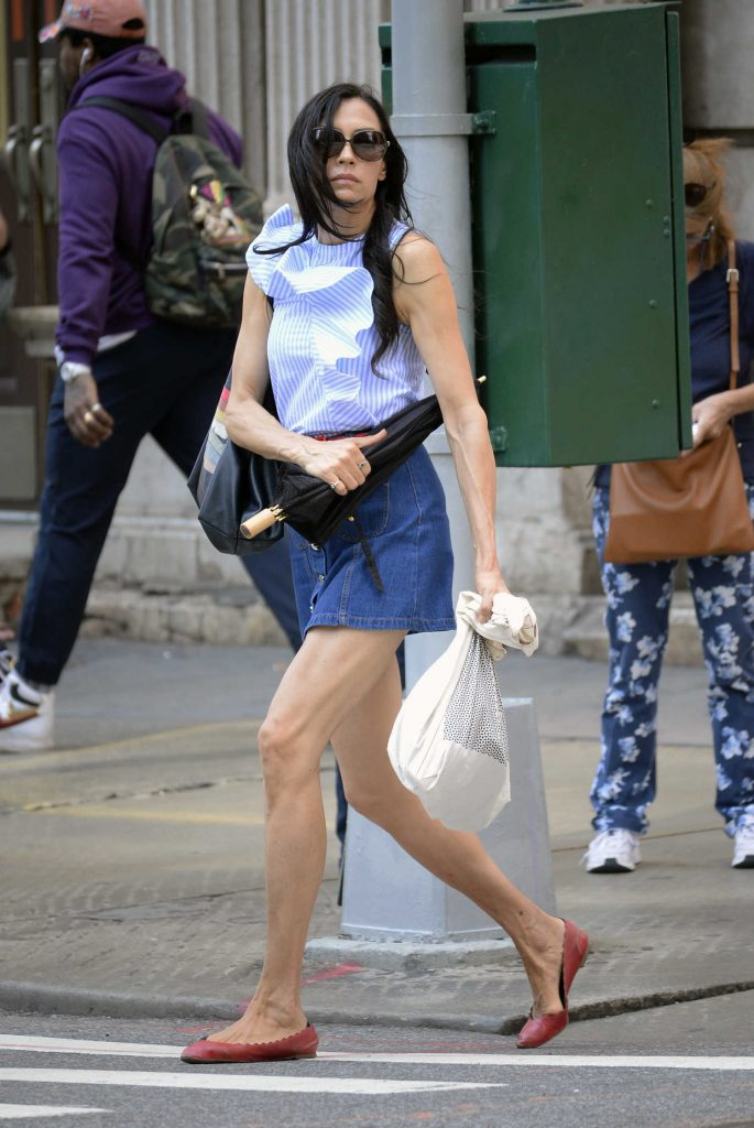 Famke Janssen Was Seen Out in Soho, NYC-1