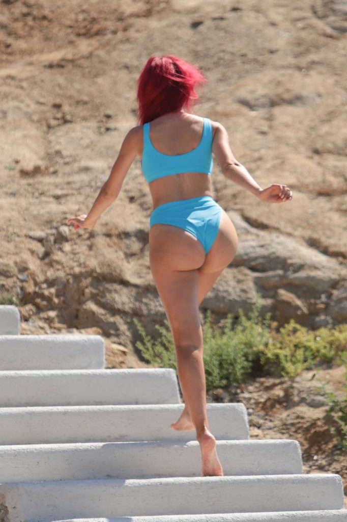 Farrah Abraham in Bikini at the Beach in Greece-4
