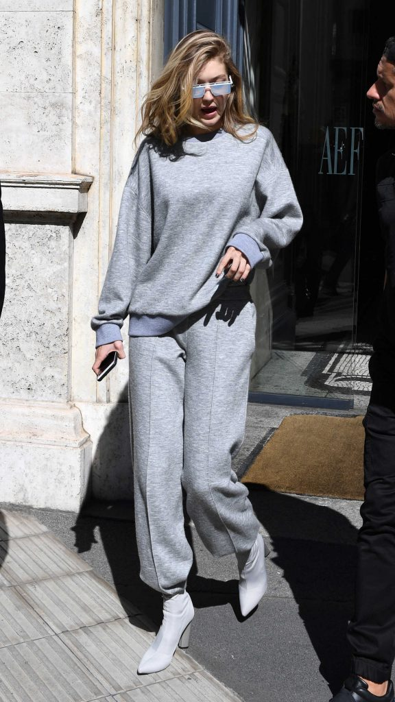 Gigi Hadid Was Spotted Out in Milan-1