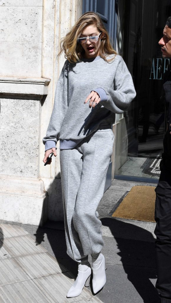Gigi Hadid Was Spotted Out in Milan-2