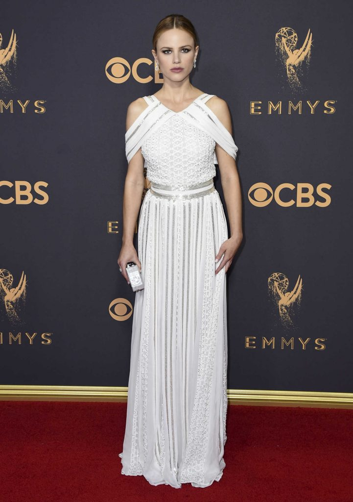 Halston Sage at the 69th Annual Primetime Emmy Awards in Los Angeles-1