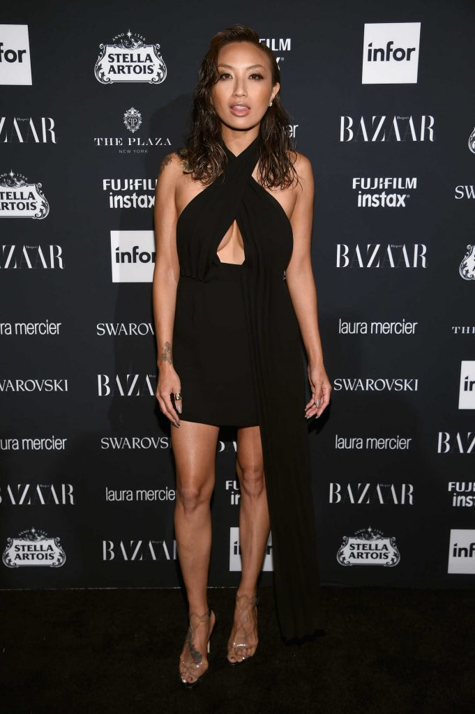 Jeannie Mai at Harper's Bazaar ICONS Party During New York Fashion Week-1