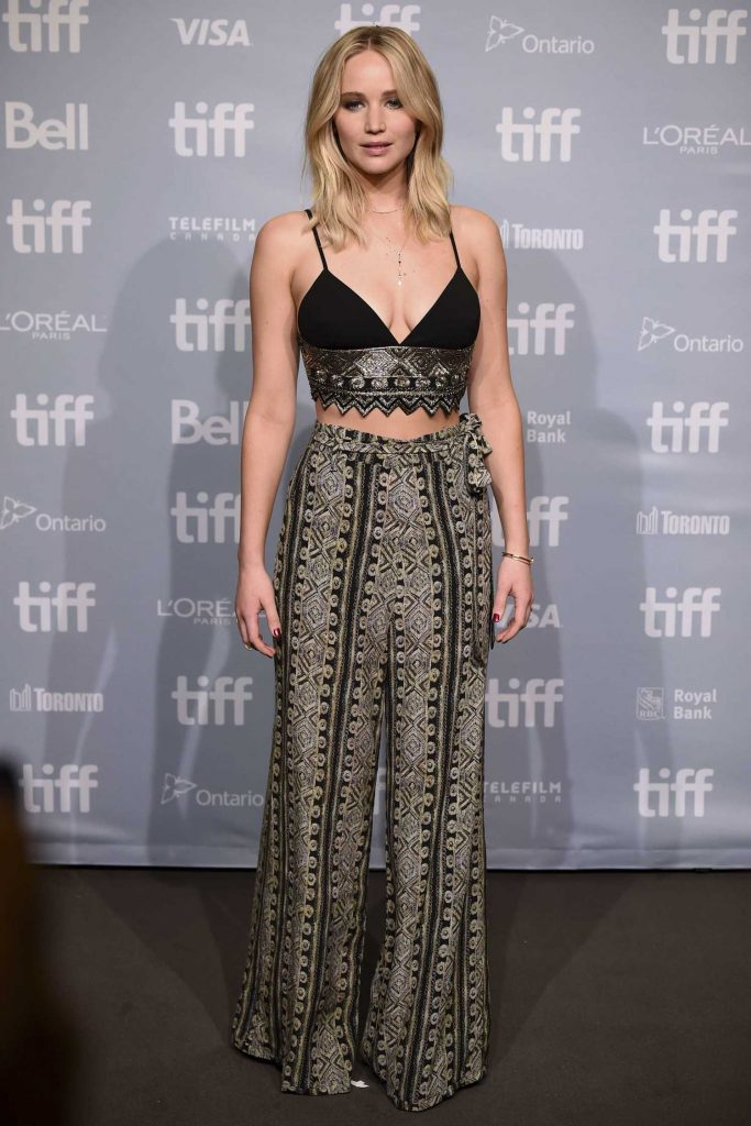 Jennifer Lawrence at Mother! Press Conference During the 42nd Toronto International Film Festival-1