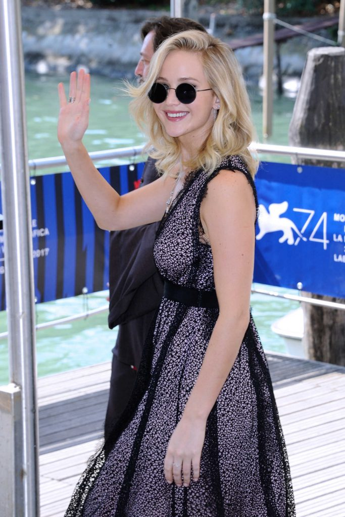Jennifer Lawrence at the Casino During the 74th Venice International Film Festival in Italy-2